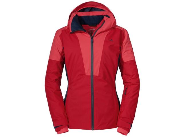 Schöffel Gargellen Ski-jas Dames, rood